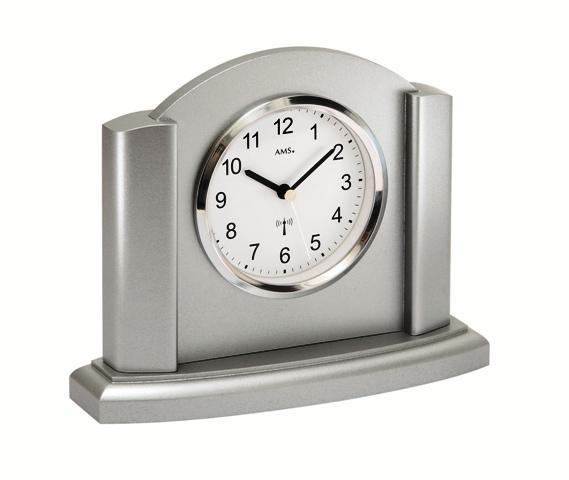Stolní hodiny 5122 AMS řízené rádiovým signálem 20cm + prodloužená záruka 3 roky