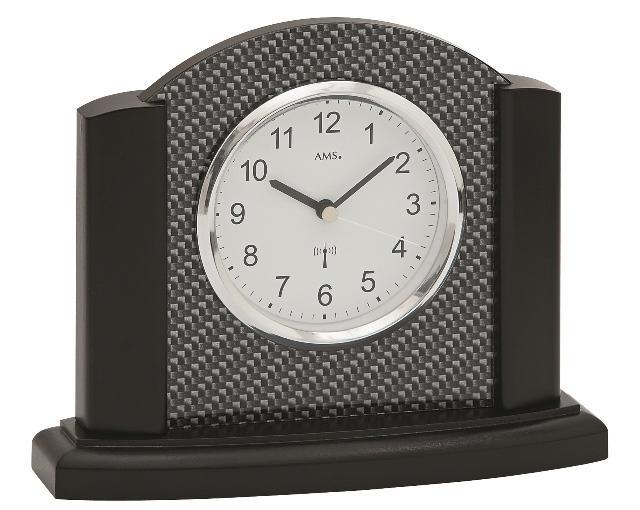 Stolní hodiny 5123/11 AMS řízené rádiovým signálem 20cm + prodloužená záruka 3 roky