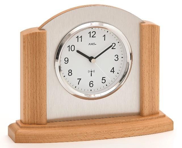 Stolní hodiny 5123/18 AMS řízené rádiovým signálem 20cm + prodloužená záruka 3 roky