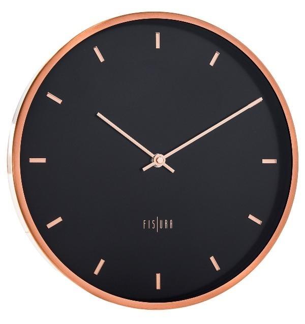 Hodiny a budíky - Designové nástěnné hodiny CL0062 Fisura 30cm