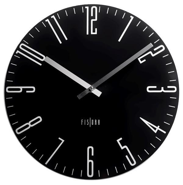 Hodiny a budíky - Designové nástěnné hodiny CL0069 Fisura 35cm