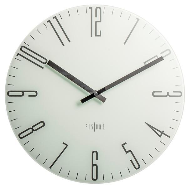 Hodiny a budíky - Designové nástěnné hodiny CL0070 Fisura 35cm