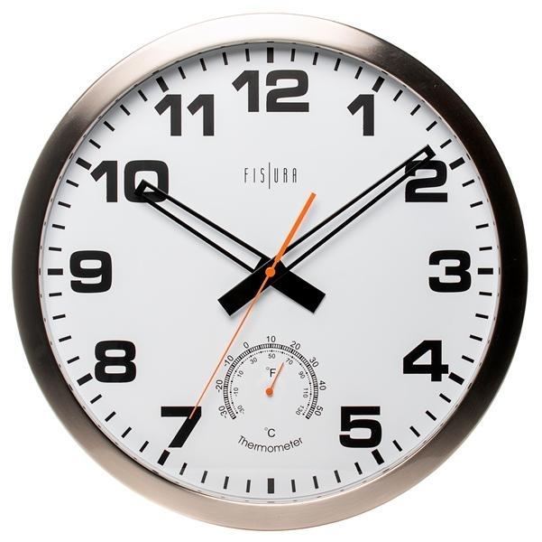 Hodiny a budíky - Designové nástěnné hodiny CL0072 Fisura 40cm