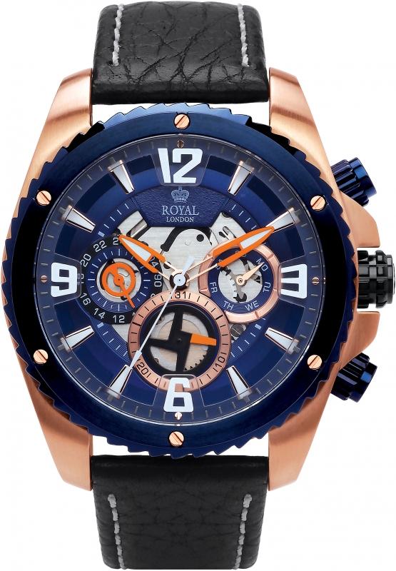 ec3a7f40982 Pánské hodinky - Royal London 41349-03