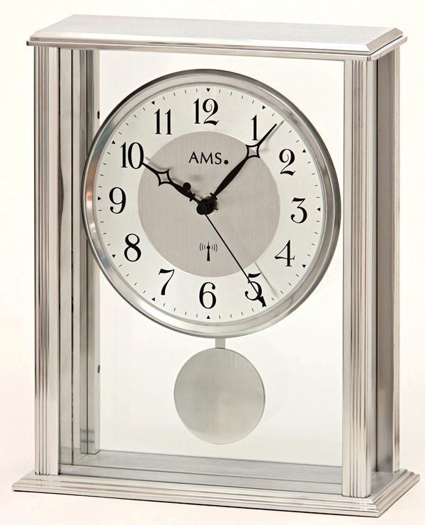 Stolní kyvadlové hodiny 5190 AMS řízené rádiovým signálem 25cm + prodloužená záruka 3 roky