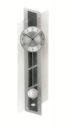 Kyvadlové nástěnné hodiny 5217 AMS řízené rádiovým signálem 84cm + prodloužená záruka 3 roky