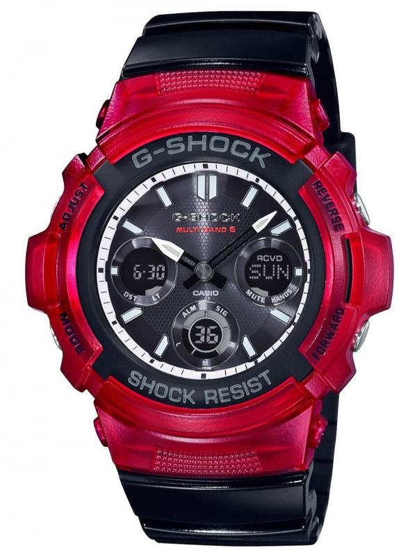 Značky - CASIO AWG-M100SRB-4A G-Shock