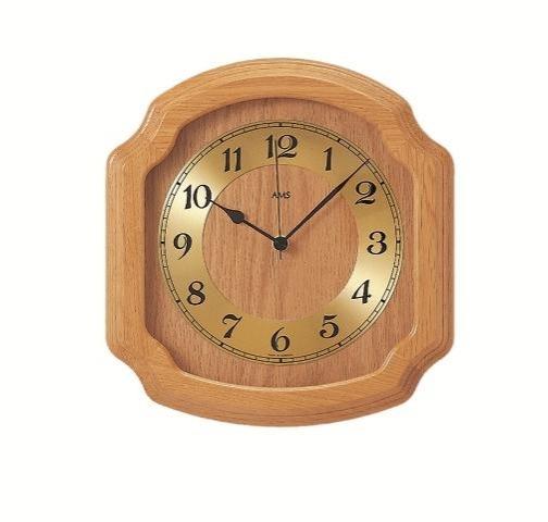 Nástěnné hodiny 5801/5 AMS řízené rádiovým signálem 28cm + prodloužená záruka 3 roky