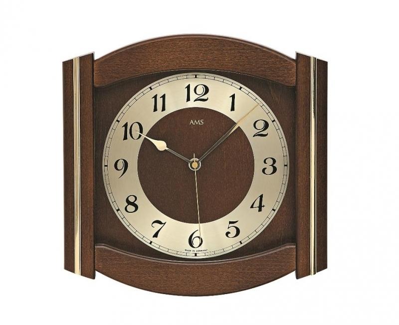 Nástěnné hodiny 5822/1 AMS řízené rádiovým signálem 27cm + prodloužená záruka 3 roky