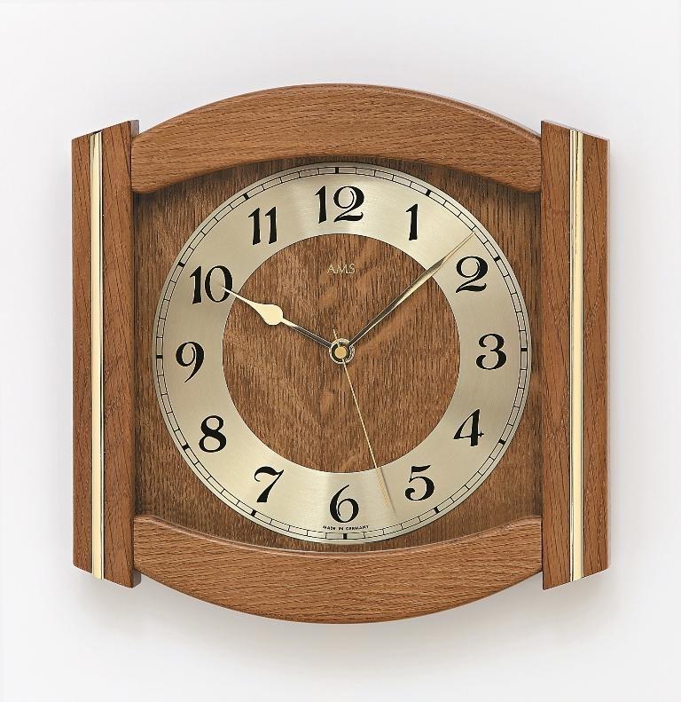 Nástěnné hodiny 5822/4 AMS řízené rádiovým signálem 27cm + prodloužená záruka 3 roky