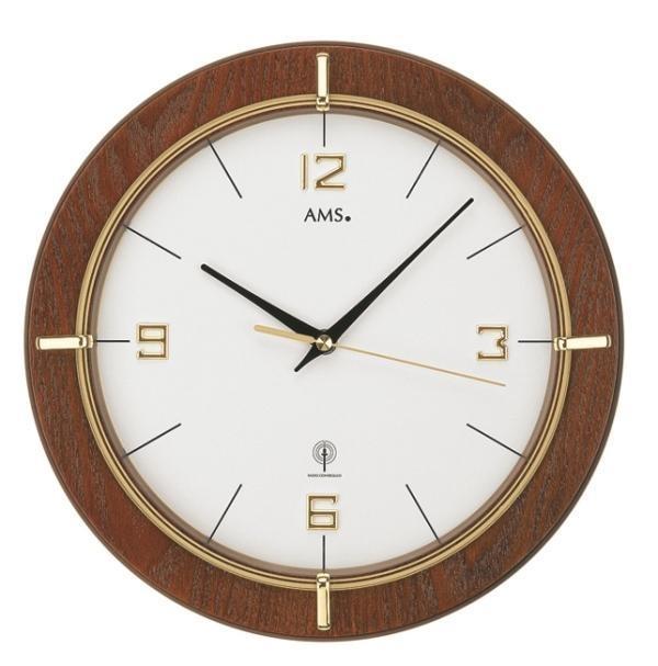 Nástěnné hodiny 5832 AMS řízené rádiovým signálem 29cm + prodloužená záruka 3 roky