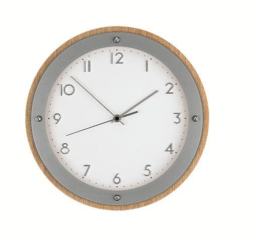 Nástěnné hodiny 5846 AMS řízené rádiovým signálem 29cm + prodloužená záruka 3 roky