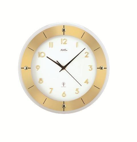 Nástěnné hodiny 5850 AMS řízené rádiovým signálem 31cm + prodloužená záruka 3 roky