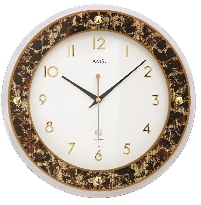 Nástěnné hodiny 5853 AMS řízené rádiovým signálem 31cm + prodloužená záruka 3 roky