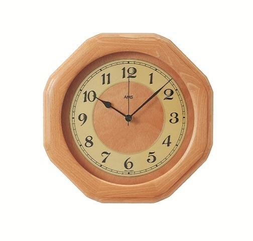 Nástěnné hodiny 5859/18 AMS řízené rádiovým signálem 28cm + prodloužená záruka 3 roky
