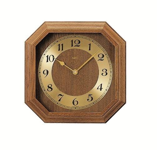 Nástěnné hodiny 5864/4 AMS řízené rádiovým signálem 26cm + prodloužená záruka 3 roky