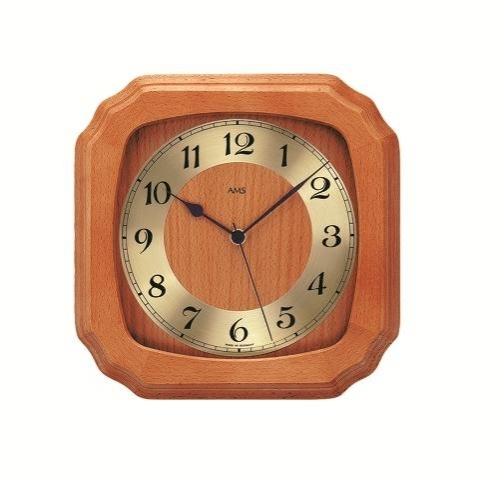 Nástěnné hodiny 5866/9 AMS řízené rádiovým signálem 26cm + prodloužená záruka 3 roky