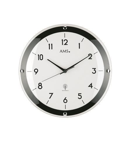 Nástěnné hodiny 5906 AMS řízené rádiovým signálem 31cm + prodloužená záruka 3 roky