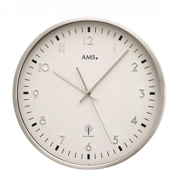 Nástěnné hodiny 5914 AMS řízené rádiovým signálem 32cm + prodloužená záruka 3 roky