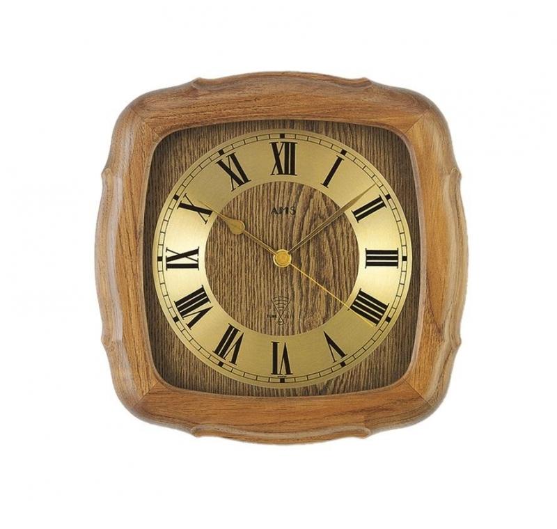 Nástěnné hodiny 5932/4 AMS řízené rádiovým signálem 27cm + prodloužená záruka 3 roky