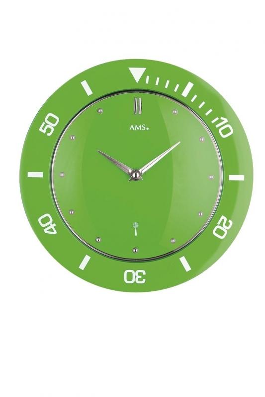 Nástěnné hodiny 5942 AMS řízené rádiovým signálem 28cm + prodloužená záruka 3 roky