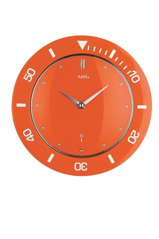 Nástěnné hodiny 5943 AMS řízené rádiovým signálem 28cm + prodloužená záruka 3 roky