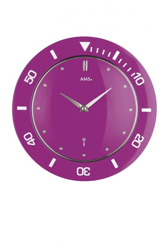 Nástěnné hodiny 5944 AMS řízené rádiovým signálem 28cm + prodloužená záruka 3 roky