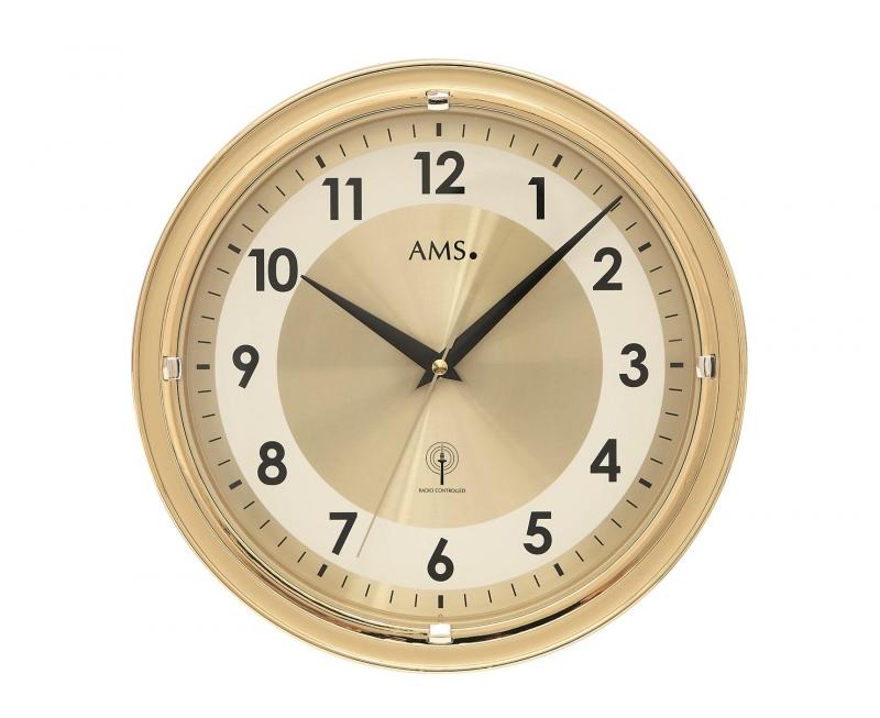Nástěnné hodiny 5946 AMS řízené rádiovým signálem 30cm + prodloužená záruka 3 roky