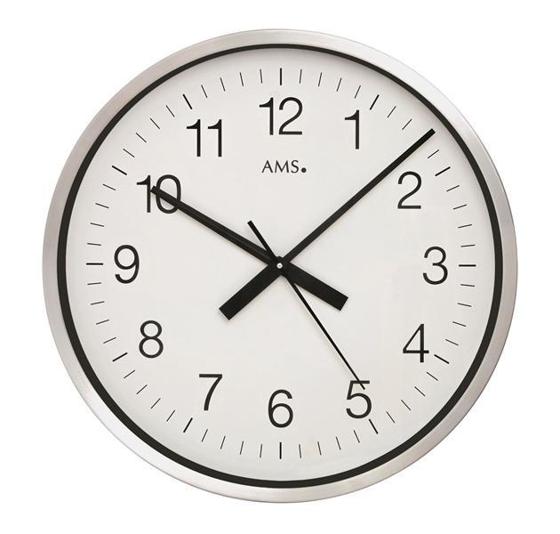 Nástěnné hodiny 5949 AMS řízené rádiovým signálem 60cm + prodloužená záruka 3 roky