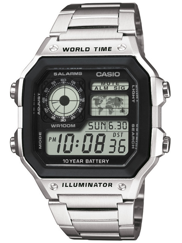 CASIO AE-1200WHD-1A + prodloužená záruka 3 roky