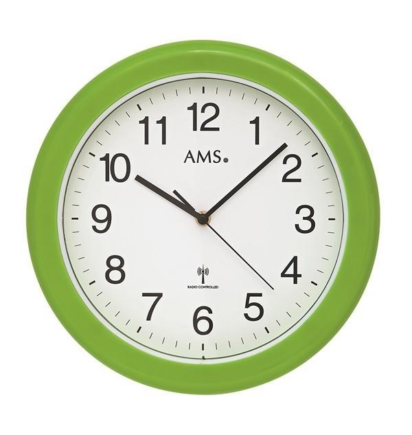 Nástěnné hodiny 5958 AMS řízené rádiovým signálem 30cm + prodloužená záruka 3 roky