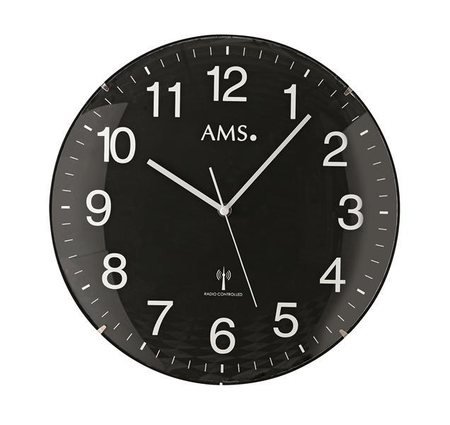 Nástěnné hodiny 5959 AMS řízené rádiovým signálem 32cm + prodloužená záruka 3 roky
