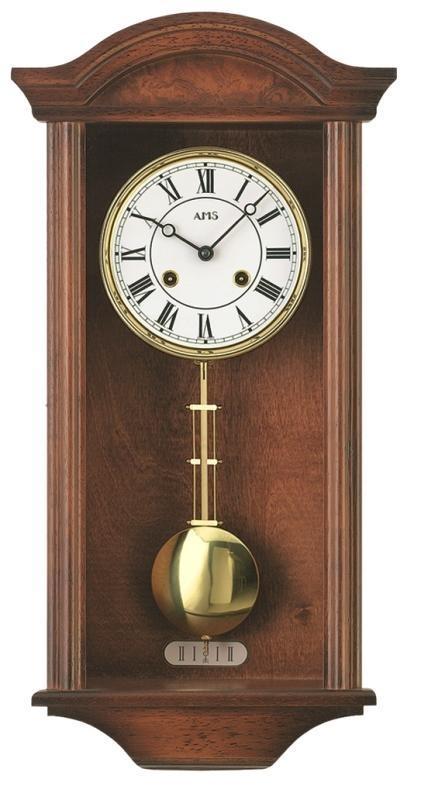 Kyvadlové mechanické nástěnné hodiny 614/1 AMS 53cm + prodloužená záruka 3 roky