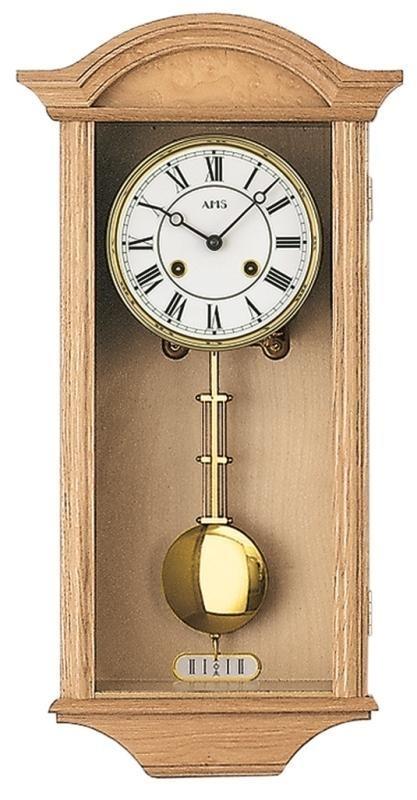 Kyvadlové mechanické nástěnné hodiny 614/5 AMS 53cm + prodloužená záruka 3 roky