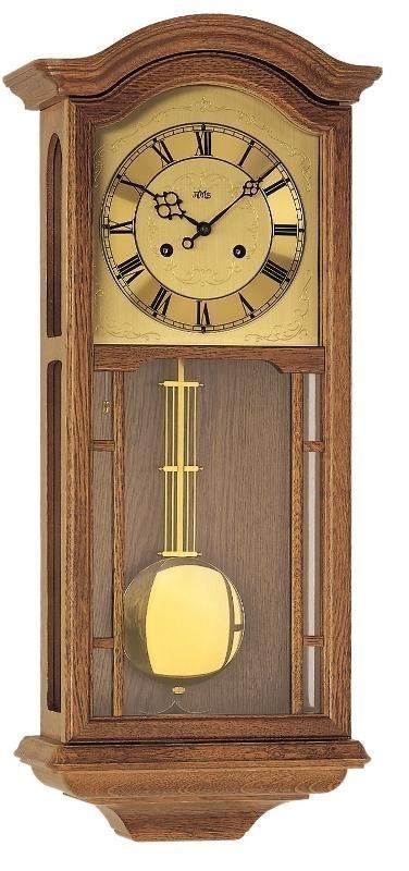 Kyvadlové mechanické nástěnné hodiny 650/4 AMS 67cm + prodloužená záruka 3 roky