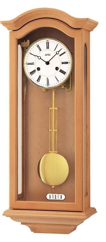 Kyvadlové mechanické nástěnné hodiny 696/16 AMS 67cm + prodloužená záruka 3 roky