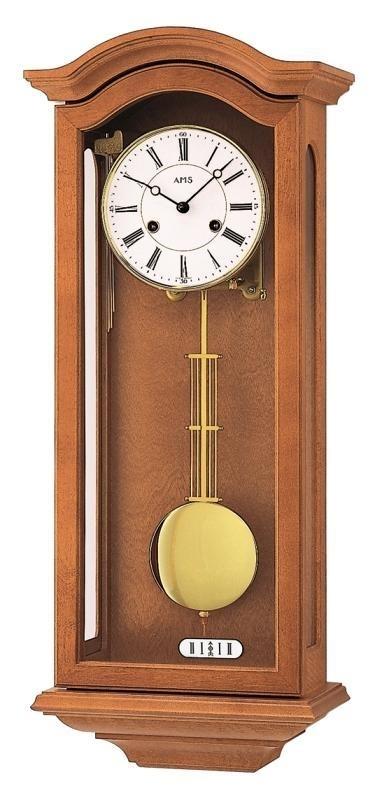 Kyvadlové mechanické nástěnné hodiny 696/9 AMS 67cm + prodloužená záruka 3 roky