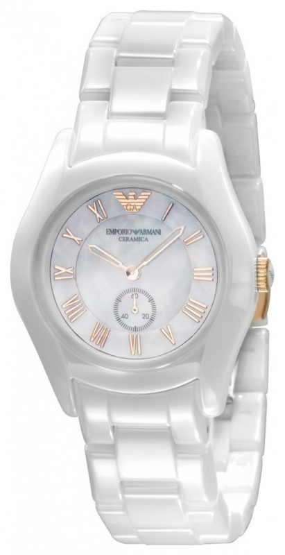 5f7d63b0cad Dámské hodinky - Emporio Armani Ceramic AR1418