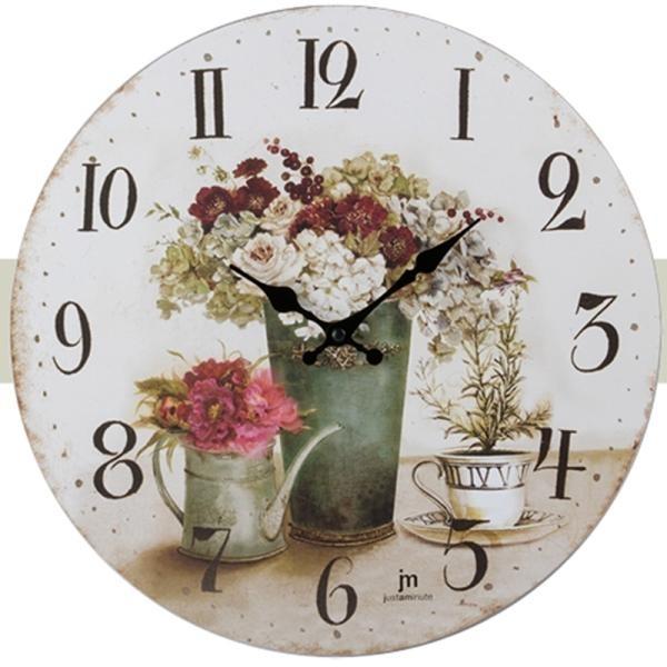 Hodiny a budíky - Designové nástěnné hodiny 21454 Lowell 34cm