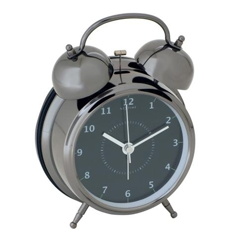 Hodiny a budíky - Designový budík 5111zw Nextime Wake Up 12cm