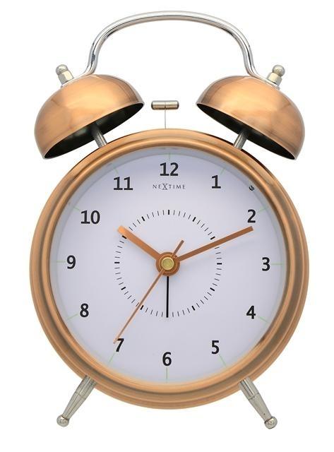 Hodiny a budíky - Designový budík 5112co Nextime Wake Up 21cm