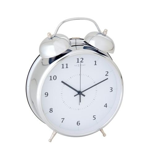 IMPORT - Designový budík 5113zi Nextime Wake Up 30cm