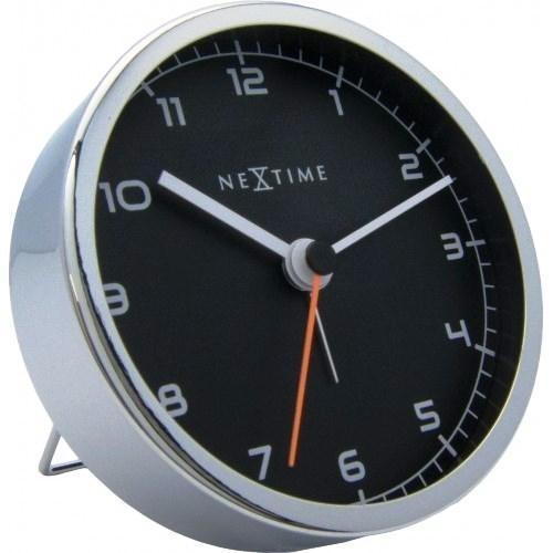 Hodiny a budíky - Designový stolní budík 5194zw Nextime Company Alarm 9cm