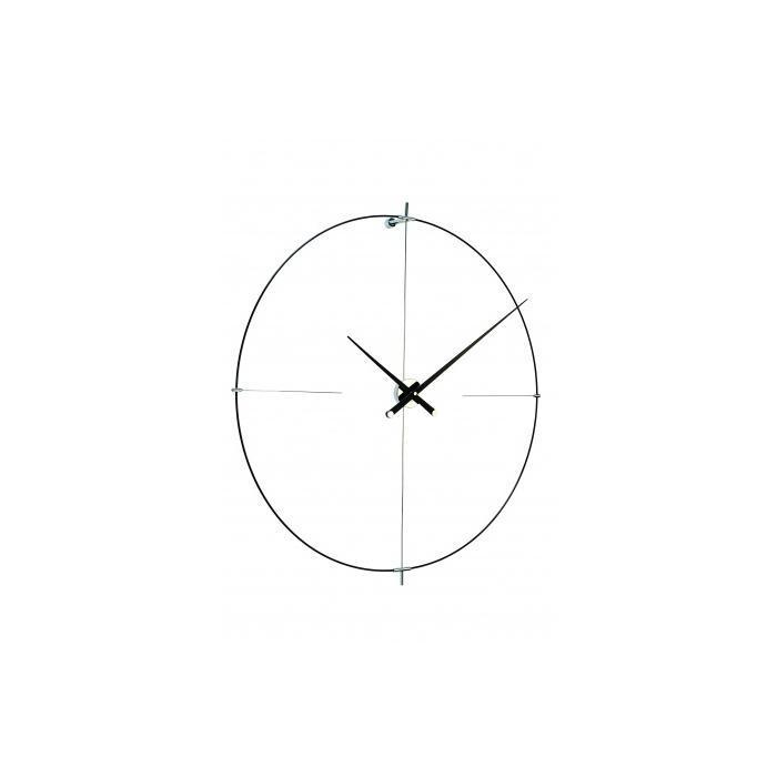 Hodiny a budíky - Designové nástěnné hodiny Nomon Bilbao L černé 110cm