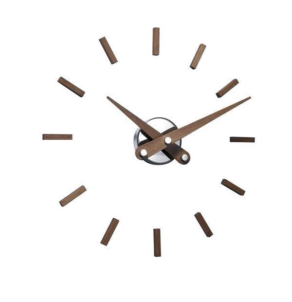 Designové nástěnné hodiny Nomon Sunset Gold Wenge 50cm + prodloužená záruka 3 roky