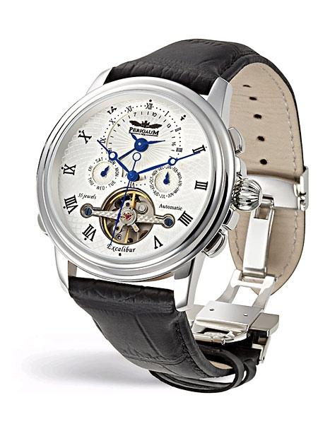 Pánské hodinky - Perigaum Excalibur Automatik P-0502-SW