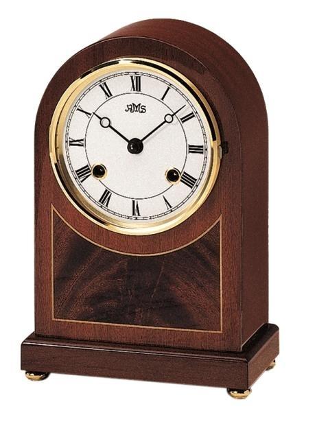 Stolní mechanické hodiny 154/8 AMS 23cm + prodloužená záruka 3 roky