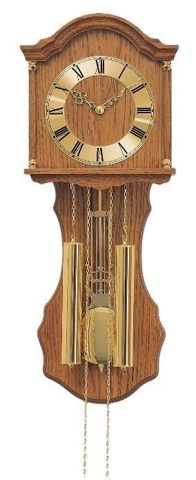 Kyvadlové mechanické nástěnné hodiny 211/4 AMS 66cm + prodloužená záruka 3 roky