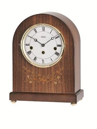 Stolní mechanické hodiny 2154/1 AMS 30cm + prodloužená záruka 3 roky