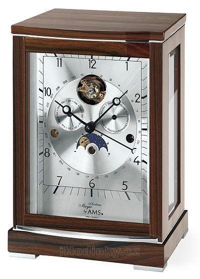Stolní mechanické hodiny 2170/1 AMS 29cm + prodloužená záruka 3 roky